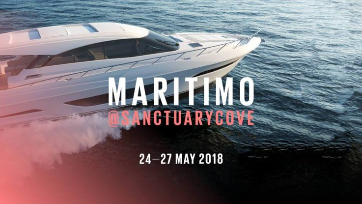 Book a private tour of the Maritimo boats at the Sanctuary Cove Boat Show