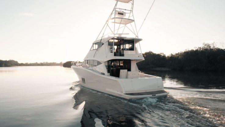 MARITIMO ONE   CUSTOM FISH M59 MOTOR YACHT HEADED FOR THE HIGH SEAS