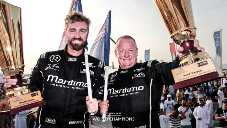 MARITIMO RACING WIN 2019 UIM XCAT WORLD CHAMPIONSHIP