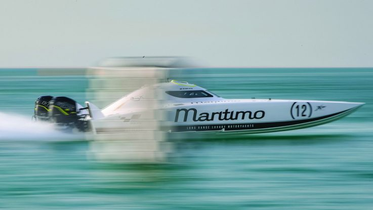 MARITIMO RACING DIVISION FLOWS THROUGH TO PRODUCTION MOTOR YACHTS