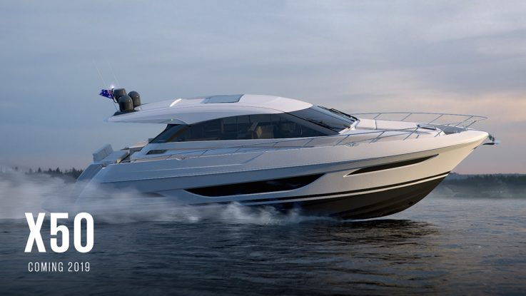 The Maritimo X50 reveal causes a sensation in Sydney