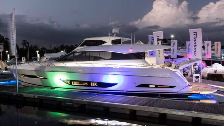 Maritimo X60 setting the boating world on fire!