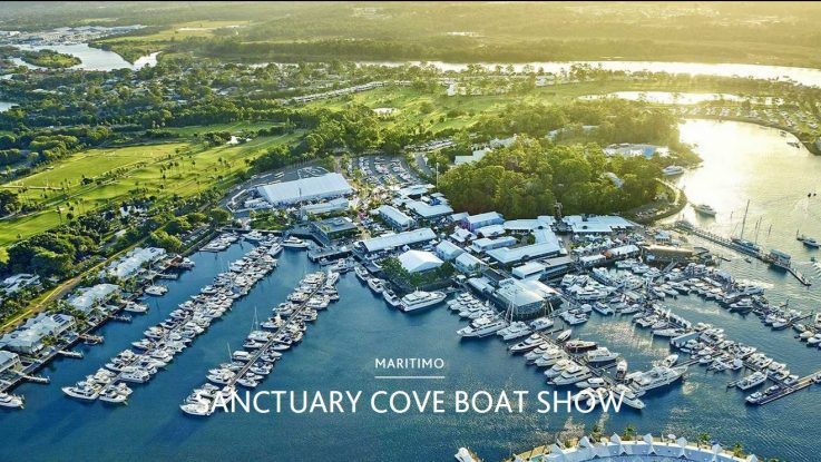 MARITIMO PLANNING MAJOR ON WATER DISPLAY FOR SANCTUARY COVE BOAT SHOW