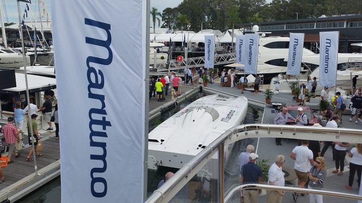 Successful Sanctuary Cove Boat Show for Maritimo