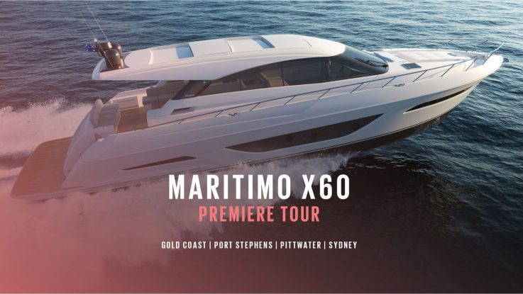 Discover the Maritimo X60 as it makes its way down the East Coast of Australia