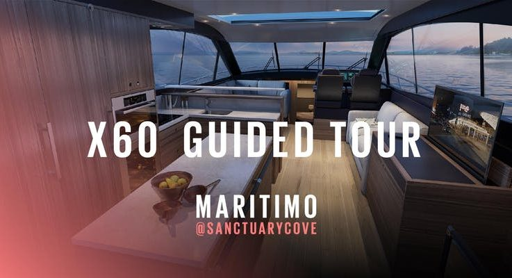 Get a guided tour of the Maritimo X60 with Tom Barry-Cotter